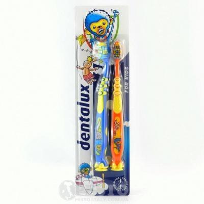 Зубна щітка дитяча Dentalux 2шт