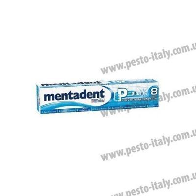 Зубна паста Mentadent White Prevenzione Completa відбілююча 75мл