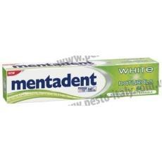 Зубная паста Mentadent White Naturals отбеливающая 75мл