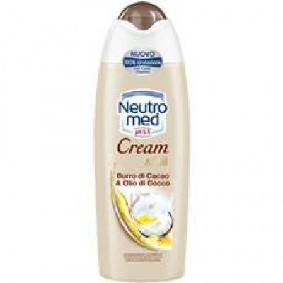 Гель для душа Neutro Cream Oil al Burro di Cacao e Olio di Cocco 300мл