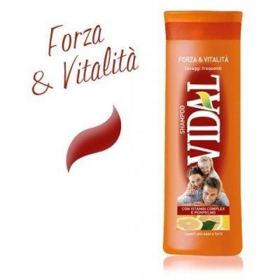 Шампунь shampoo vidal forza  vitalita 250мл