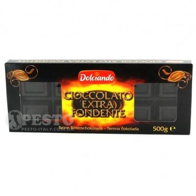 Шоколад Dolciando екстра темний 0.5 кг