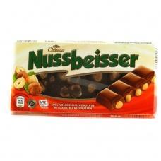 Шоколад Nussbeisser молочний з горіхами 100г