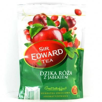 В пакетиках Sir Edward дика роза і яблуко 25 шт