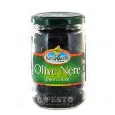 Оливки чорні Vario Gusto без кісточки 125г
