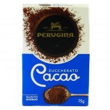 Какао Perugina cacao zuccherato без глютену 75г