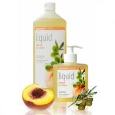 Рідке органічне мило Sodasan персик та олива 1л