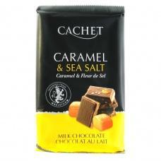 Cachet молочний карамель та морська сіль 32% какао 300 г