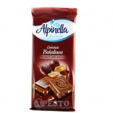 Alpinella молочний арахіс і родзинки 100 г