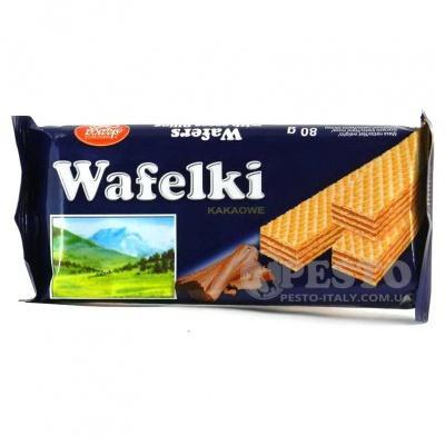 Вафлі Skawa шоколадна 80 гр