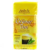 Westminster tea лимоний смак зелений 250 г
