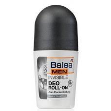 Кульковий дезодорант Balea men invisible 50мл
