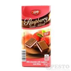 Шоколад Katy молочний з полуницею 100г