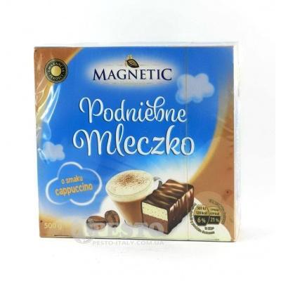 Цукерки Magnetic Podniebne mleczko зі смаком капучіно 0,5кг