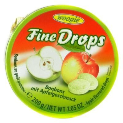 Льодяники Woogie Fine drops яблуко 200 г
