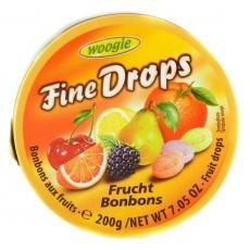 Woogie Fine drops фруктові 200 г