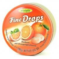 Woogie Fine drops апельсин 200 г
