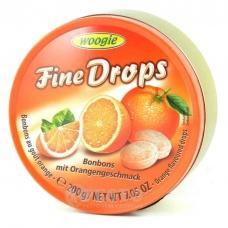 Льодяники Woogie Fine drops апельсин 200г