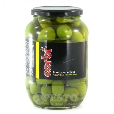 Зелені Corbi з кісточкою 0.850 кг