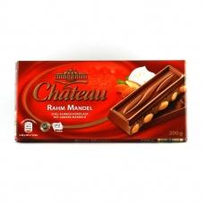 Шоколад Chateau молочний з мигдалем 200г