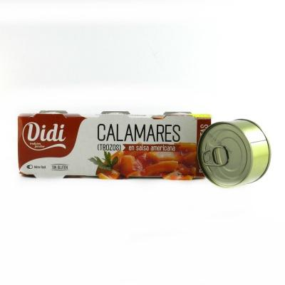 Кальмари Didi  в американському соусi 85 г