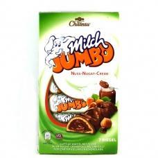 Шоколадні батончики Chateau Milch Jumbo з горіховою начинкою 7 шт 150г