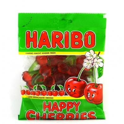 Желейки Haribo сrazy happy cherries 200 г