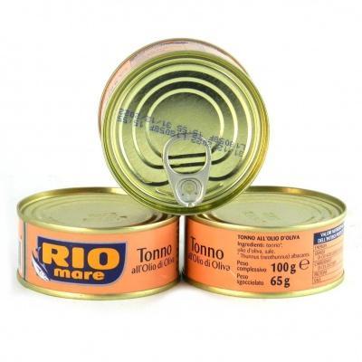 Тунець Rio mare 100 г (в оливковій олії)