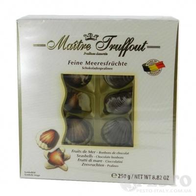 Цукерки Maitre Fruffout дари моря 250гр