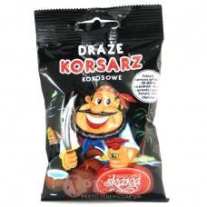 Драже Korsarz з смаком кокосу 70гр