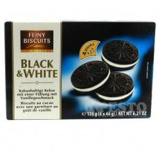 Feiny Biscuits Black and White 176 г