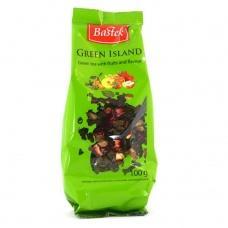 Bastek Green Island зелений з фруктами листовий 100 г