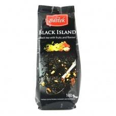 Bastek Black Island чорний з фруктами листовий 100 г
