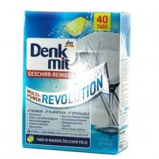 Таблетки для посудомийної машини Denk Mit multi-power revolution 40 таблеток
