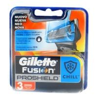 Змінні касети для бриття Gillette Fusion proshield chill 3 шт