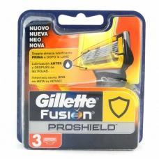 Змінні касети для бриття Gillette Fusion proshield 3 шт