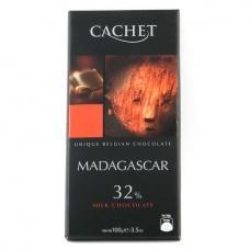 Cachet Madagascar молочний 32% какао 100 г