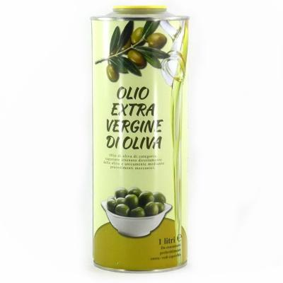 Оливкова Extra vergine di oliva в жестяній банці 1 л