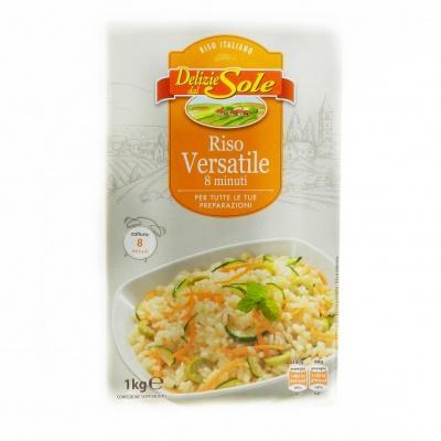 Рис Delizie dal Sole Versatile 8 minuti 1 кг