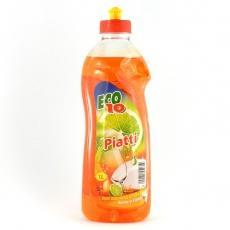 Рідина для миття посуду Eco10 оцет та лимон 1л