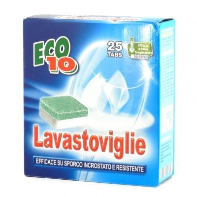 Таблетки для посудомийної машинки Eco10 25шт