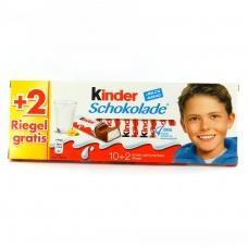 Kinder батончики Chocolate 12 шт