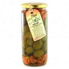 Amarilto Dolci verdi з кісточкою мариновані 0.5 кг