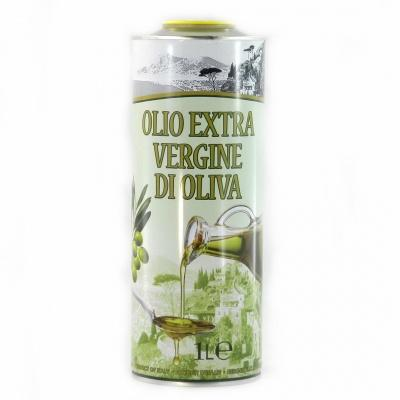 Оливкова Olio extra vergine di oliva prodotto in Italia 1 л (ж/б)