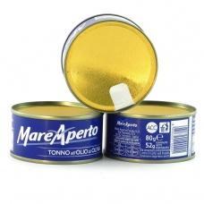 Тунець Mare Aperto в оливковій олії 80г