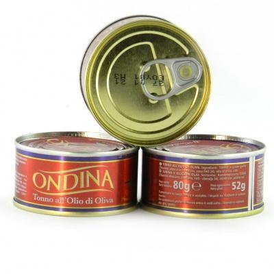 Тунець Ondina в оливковій олії 80 г