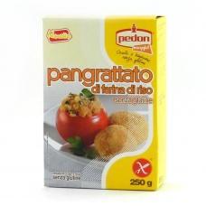 Паніровачні сухарі Pedon без глютену, з рисової муки 250г