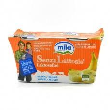 Йогурт Mila  без лактози з бананом  (2*125г) 250г