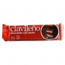 Шоколад молочний Сlavileno без глютену 20г
