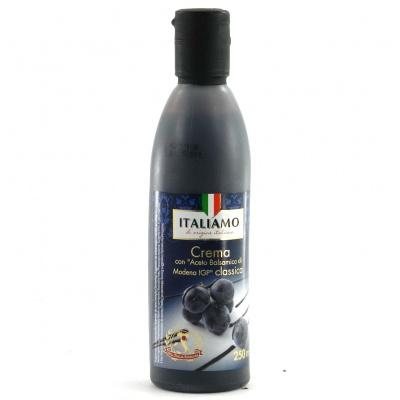 Бальзамічний Italiamo crema con Aceto Balsamico з чорницею 250 м
